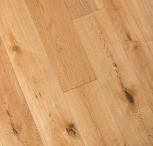 French Oak Natural Prefinished Engineered wood floors 4mm wear layer