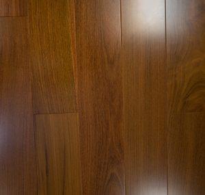 Brazilian Walnut Prefinished Engineered exotic wood floors