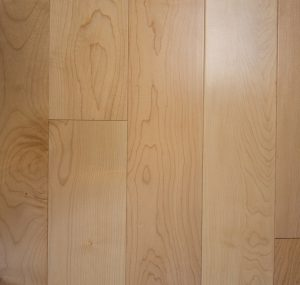 Maple Prefinished Engineered wood floors 4mm Wear Layer