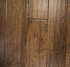 Hand Scraped Hickory Old Mountain Prefinished Solid wood floors
