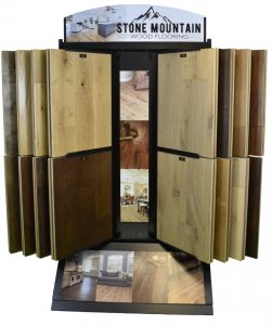 Stone Mountain Wood Flooring display