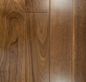 American Walnut Prefinished Engineered wood floors 4mm Wear Layer