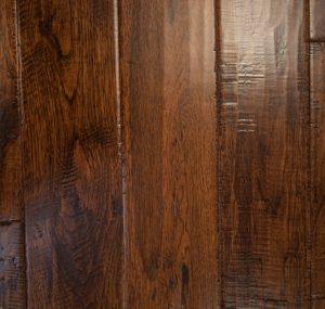 Hand Scraped Hickory Cascade Prefinished Solid wood floors